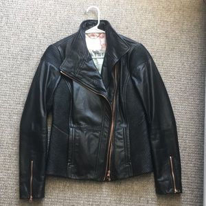 Gorgeous Ted Baker Leather Jacket